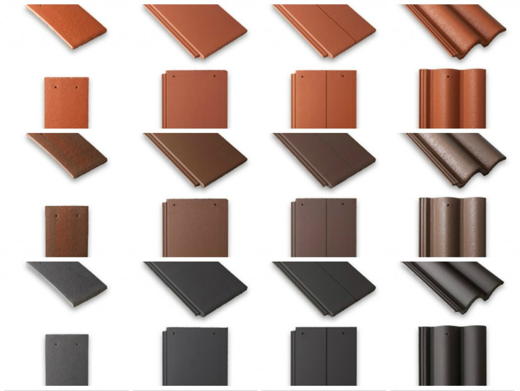 Selecting your roof tiles