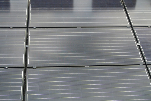 Close up of a solar panel. Photo: James Smile Click!