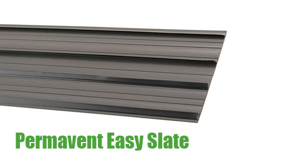 Low Pitch Roof - Permavent Easy Slate