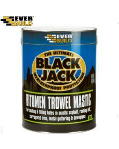 Black Jack Bitumen Trowel Mastic 903: 1ltr