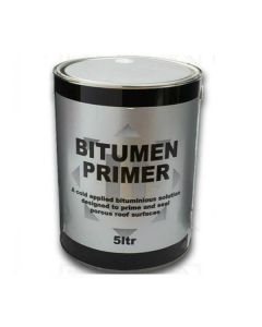 Bitumen & Flashing Primer: 5ltr