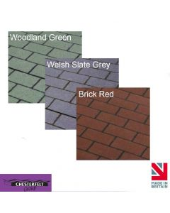 Chesterfelt Roll-On roof Shingles: 8m x 1m