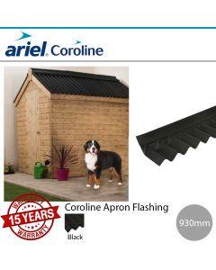 Coroline Corrugated Bitumen Roofing Sheets: Apron Flashing