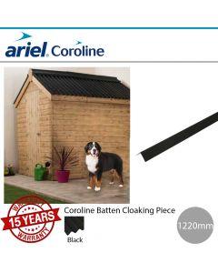 Coroline Corrugated Bitumen Roofing Sheets: Batten Cloaking