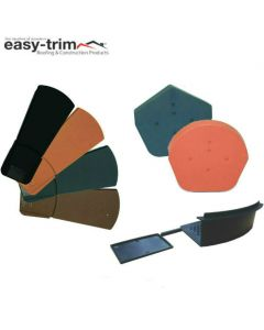Easy-Trim Easy Verge Complete Kit For Tiled Roofs: 1 Gable End