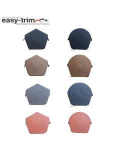 Easy-Trim Ridge End Cap