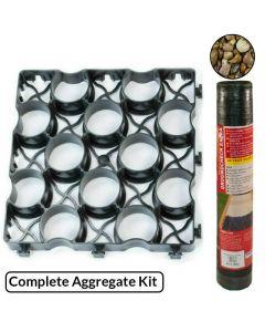 EasyGrid Ground Grid, Membrane & Aggregate Kit (m²)