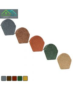 Lightweight Tiles: Granulated End Caps