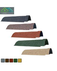 Lightweight Tiles: Granulated Ridge