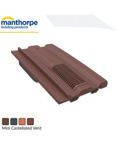 Manthorpe Mini Castellated Tile Vent (GTV-MC)