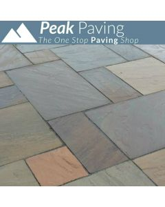 Raj Green Indian Paving: m² Packs