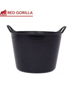 Red Gorilla Medium Tub, Black: 26ltr