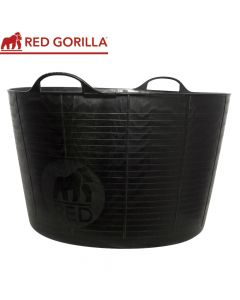 Red Gorilla Extra Large Tub, Black: 75ltr