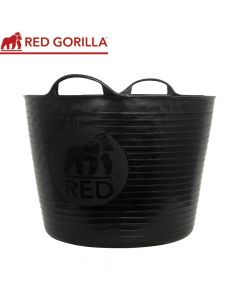 Red Gorilla Large Tub, Black: 38ltr