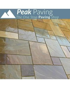 Rippon Buff Indian Paving: m² Packs