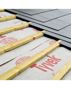 Buy Tyvek Supro breathable roofing membrane from Ashbrook Roofing Supplies.