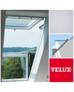 VELUX CABRIO GDL SD0L001 SK19 White-Painted Single Balcony System (114cm x 252cm)