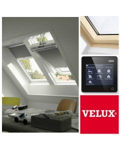 GGL 307021U FK06 VELUX INTEGRA Pine Electric Centre-Pivot Roof Window (66cm x 118cm)