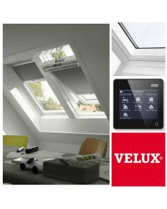 GGU 007021U CK06 VELUX INTEGRA White Electric Centre-Pivot Roof Window (55cm x 118cm)