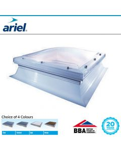 Mardome Kerbed Flat Roof Domes: Unvented Rooflights