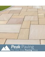 Autumn Brown Indian Paving: m² Packs