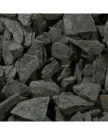 Charcoal Slate Chippings, 40mm