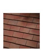 Dreadnought Handformed Bronze Clay Tile: Sandfaced