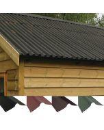 Coroline Corrugated Bitumen Roofing Sheets: Ridge