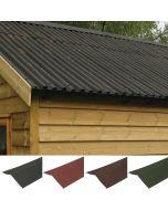 Coroline Corrugated Bitumen Roofing Sheets: Verge