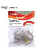 Easy-Trim Slate Repair Hooks: Pack 10