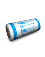 Knauf Earthwool Loft Roll Insulation 44, 100mm (13.89m²)