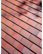 Dreadnought Brown Antique Clay Tile: Smooth
