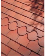 Dreadnought Brown Clay Tile: Sandfaced