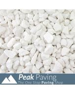 Polar White Chippings: 20mm