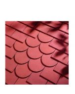 Dreadnought Red Clay Tile: Sandfaced