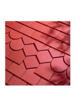 Dreadnought Red Clay Tile: Smooth