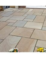 Rippon Buff Indian Paving 18.9m²