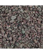 Salmon Pink Granite Chippings, 14mm: 875kg