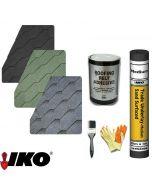IKO Hexagonal Roof Felt Shingles Complete Roof Pack