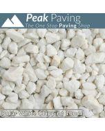 Polar White Chippings, 10mm