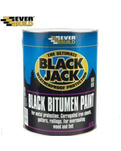 Black Jack Bitumen Paint 901: 1ltr