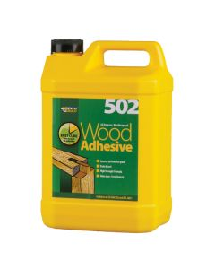 All Purpose Weatherproof Wood Adhesive 502: 5ltr