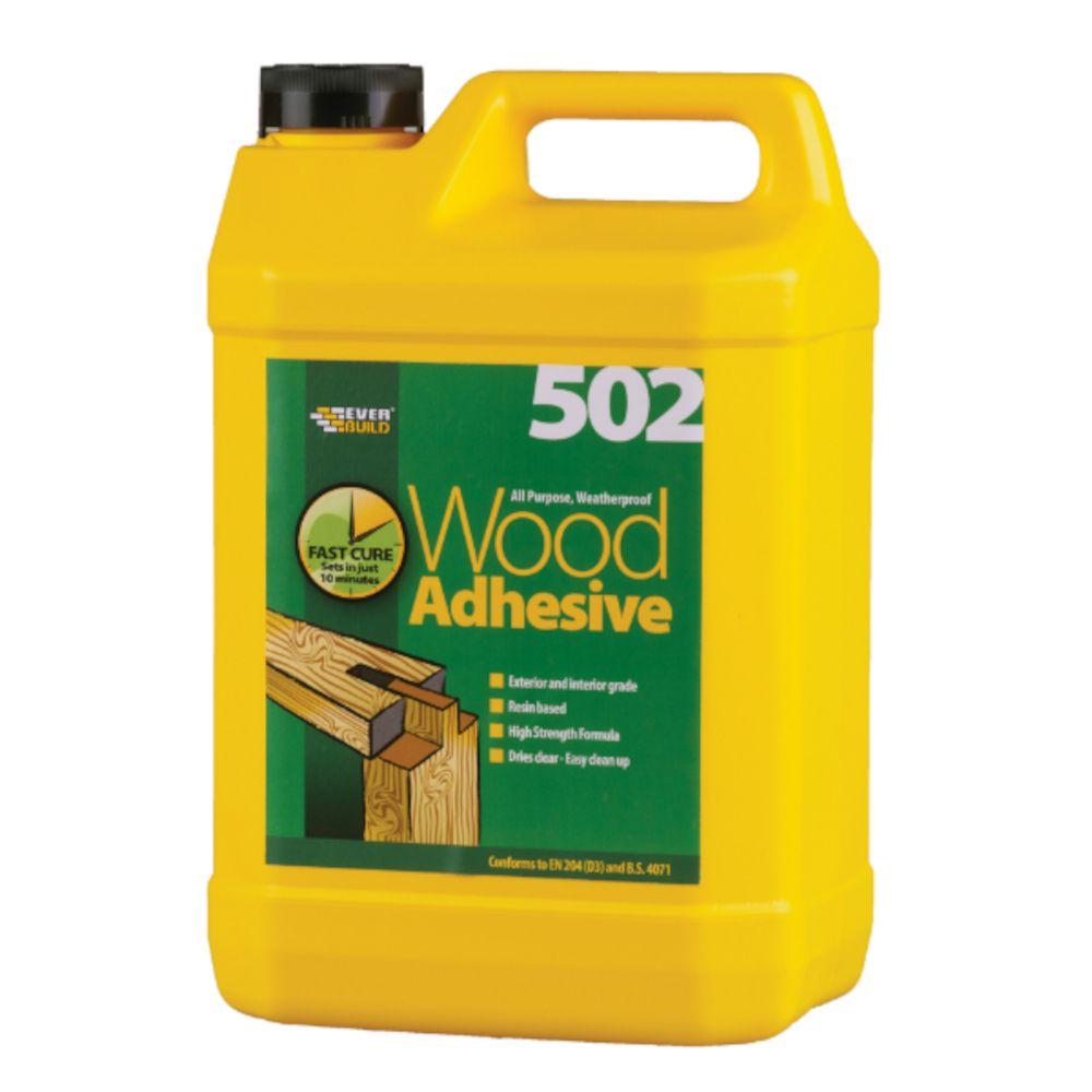 All Purpose Weatherproof Wood Adhesive 502: 5ltr