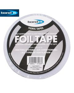 Aluminium Foil Tape: 75mm x 45m