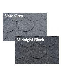 Supaflex Lite Roof Felt Shingles: Beavertails / 6 Tab (2m2)