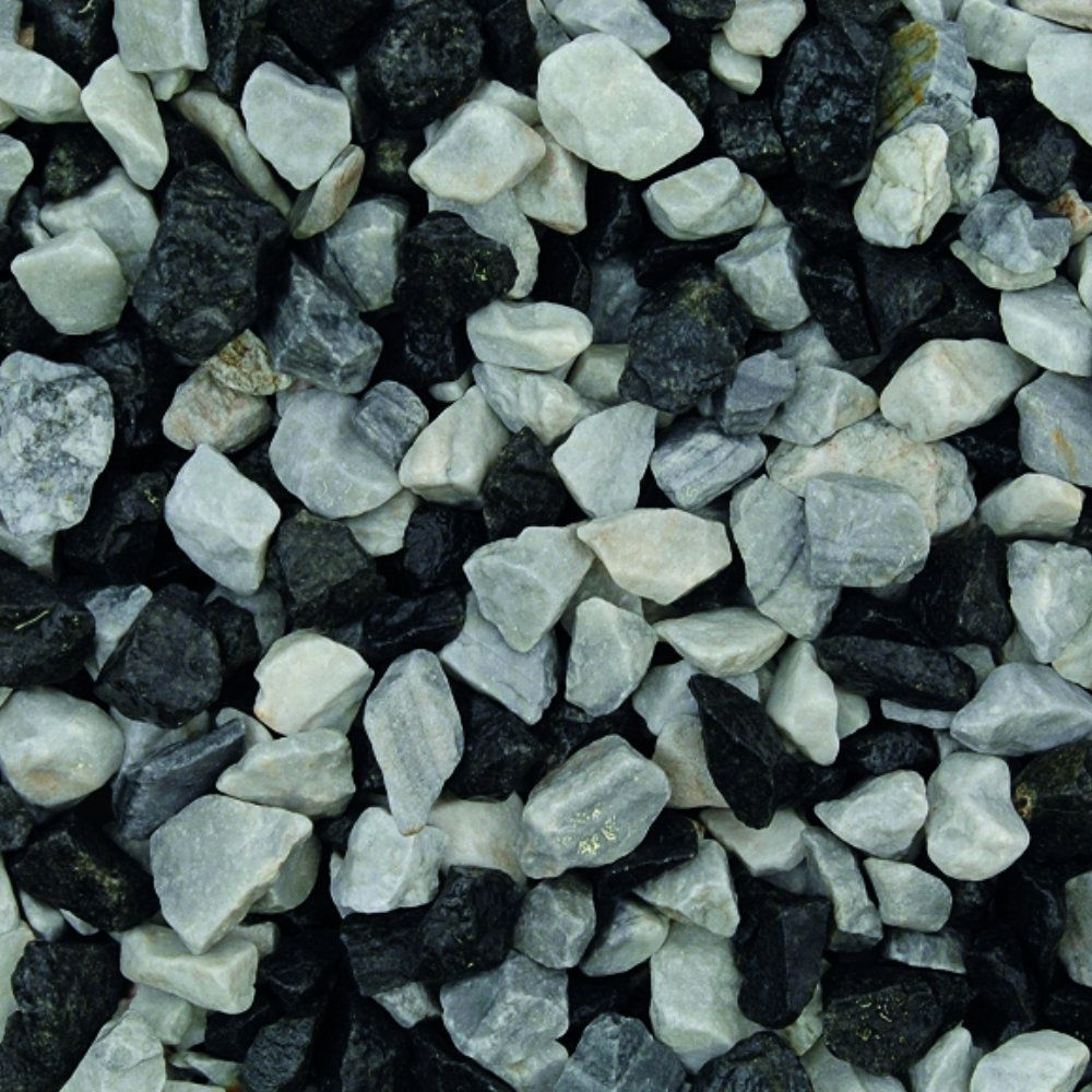 black ice chippings 20mm