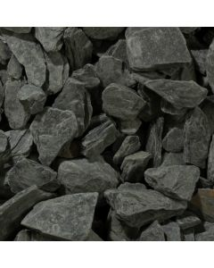 Charcoal Slate Chippings: 40mm