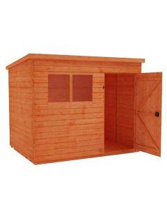 pent roofed garden sheds
