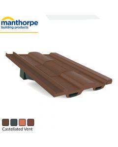 Manthorpe Castellated Tile Vent (GTV-CS)