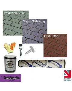Chesterfelt Roll-On Shingles Complete Roof Pack